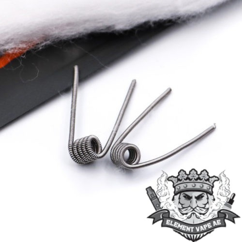 2pcs pack E cigaratte Organic cotton Hugsvape Snow Cotton Coils DIY Tools with 0 3 0 1 e1580804282233