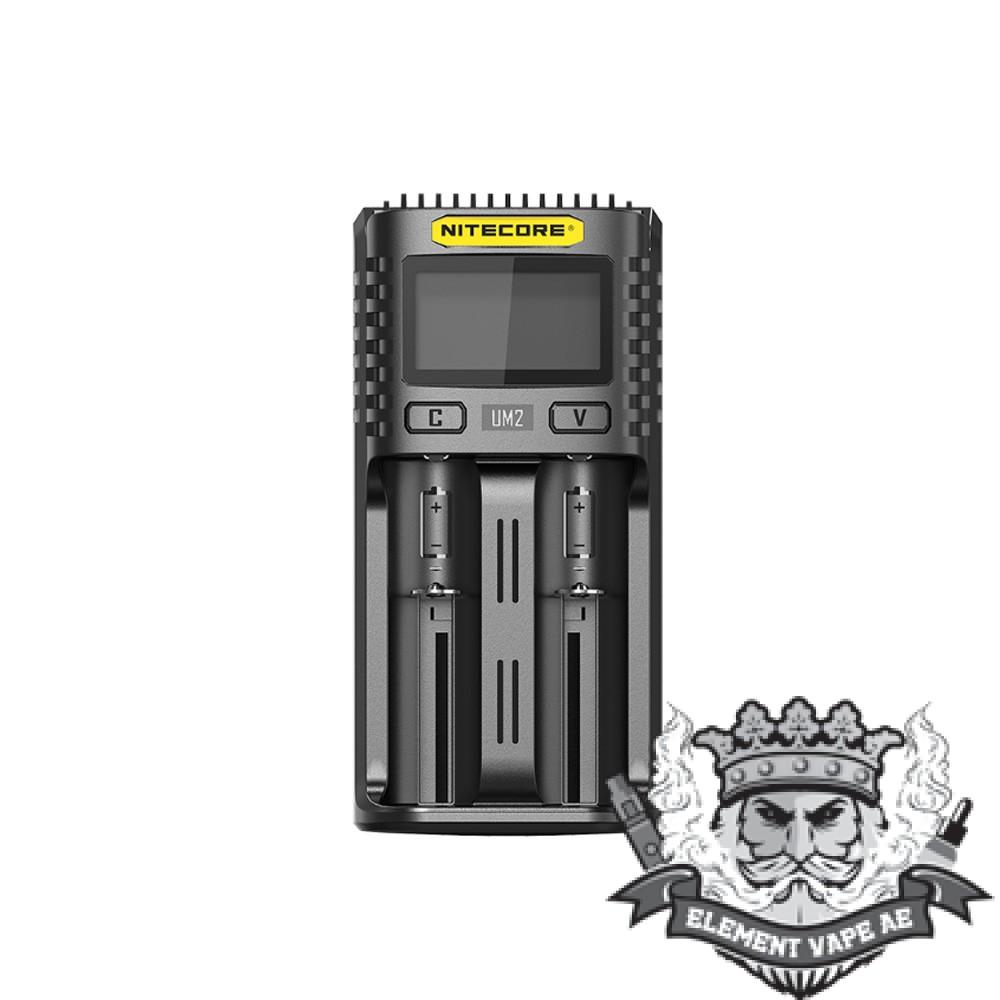 nitecore um2 dual slot charger vapeproplanet