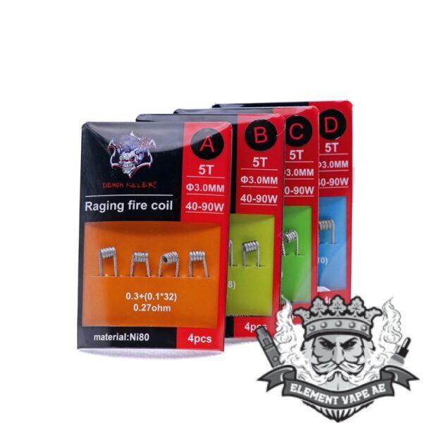 raging fire coils45118910445