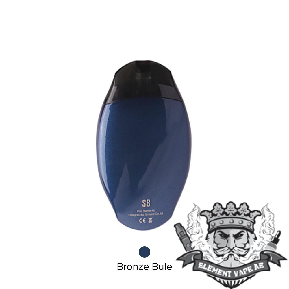 smoant s8 pod starter kit bronze blue vapeproplanet