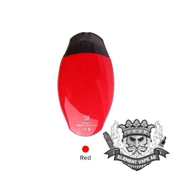 smoant s8 pod starter kit red vapeproplanet