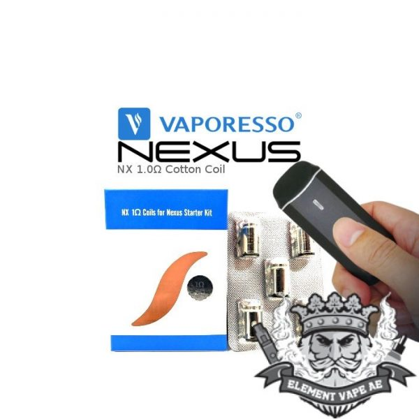 NX 1.0ohm Cotton Nexus Replacement Coils Vaporesso01