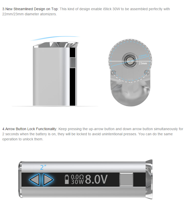Eleaf iStick 30W Mod