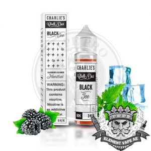 Black Ice by Charlie's Chalk Dust, 60ml 3mg