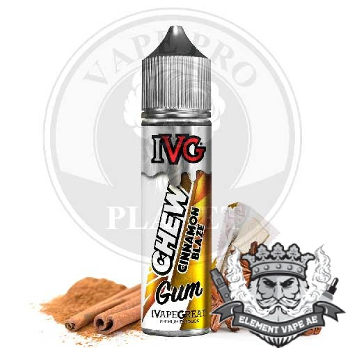 Cinnamon Blaze chew ivg vapeproplanet