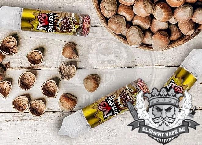 Nutty Custard ivg vapeproplanet 1