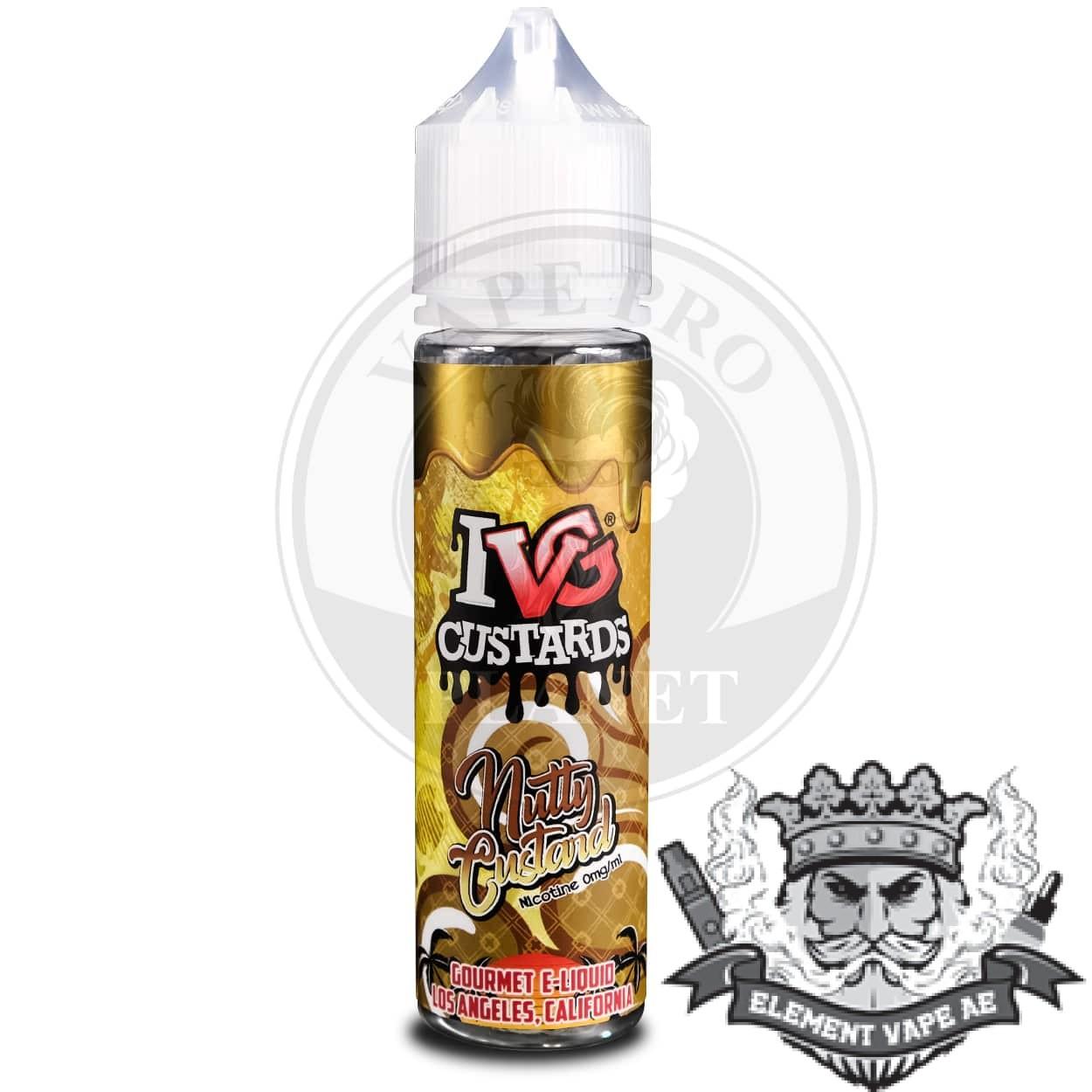 Nutty Custard ivg vapeproplanet 2
