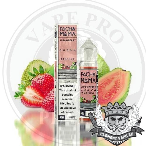 Strawberry Guava Jackfruit by Pachamama, 60ml, 3mg