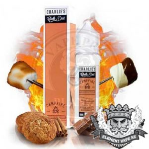 Campfire by Charlie's Chalk Dust, 60ml, 3mg