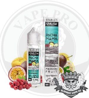 Passion Fruit Raspberry Yuzu by Pachamama, 60ml, 3mg
