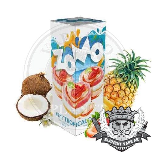 TROPICAL CAKE by Zomo 60ml, 3mg