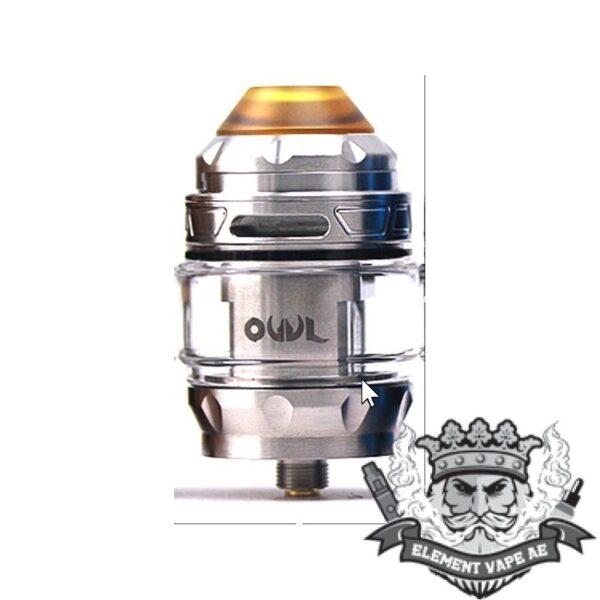 advken owl sub ohm tank silver