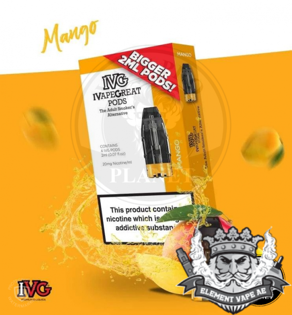 IVG Mango Prefilled pod 4pcs/Pack