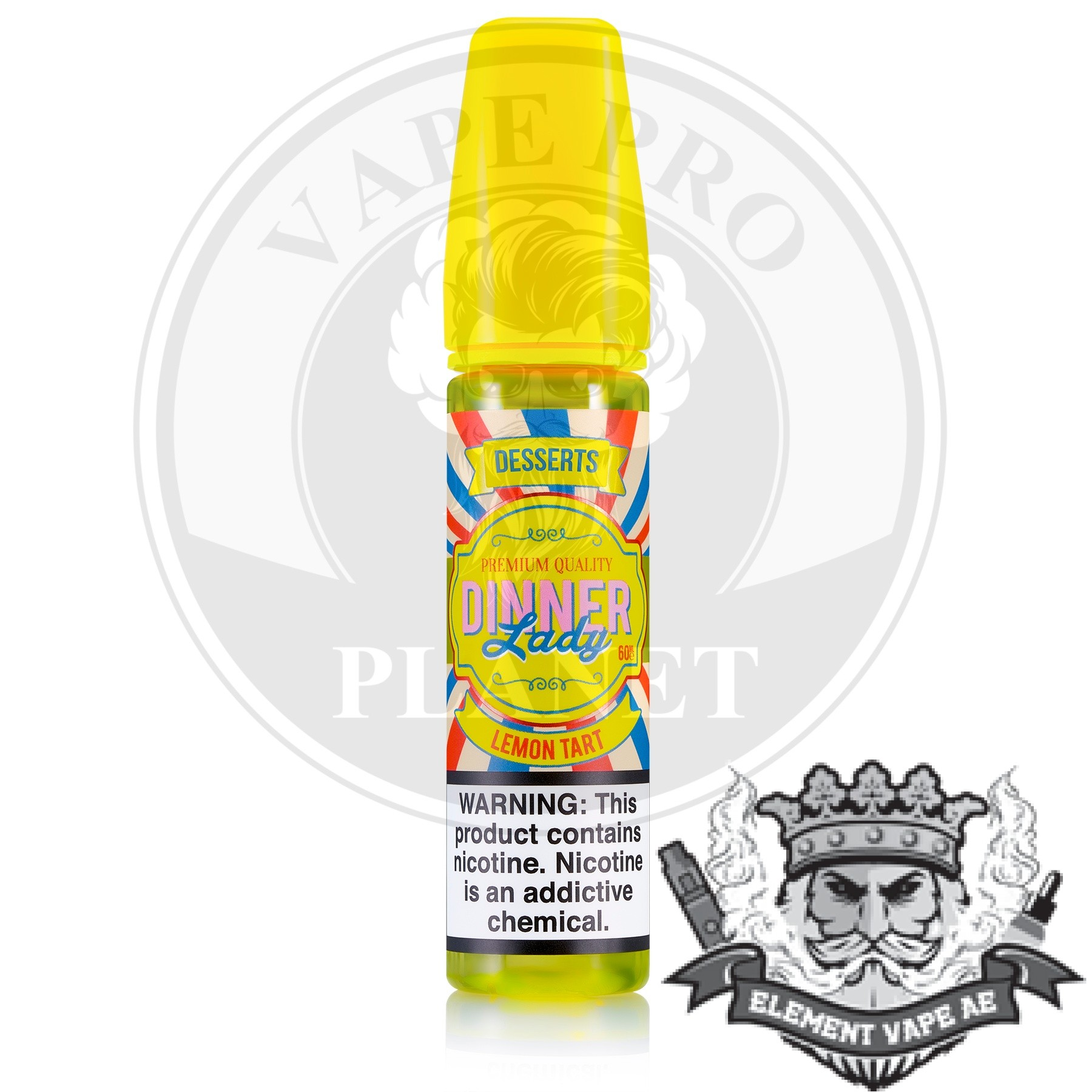 Lemon Tart By Dinner Lady, 60ml, 3mg