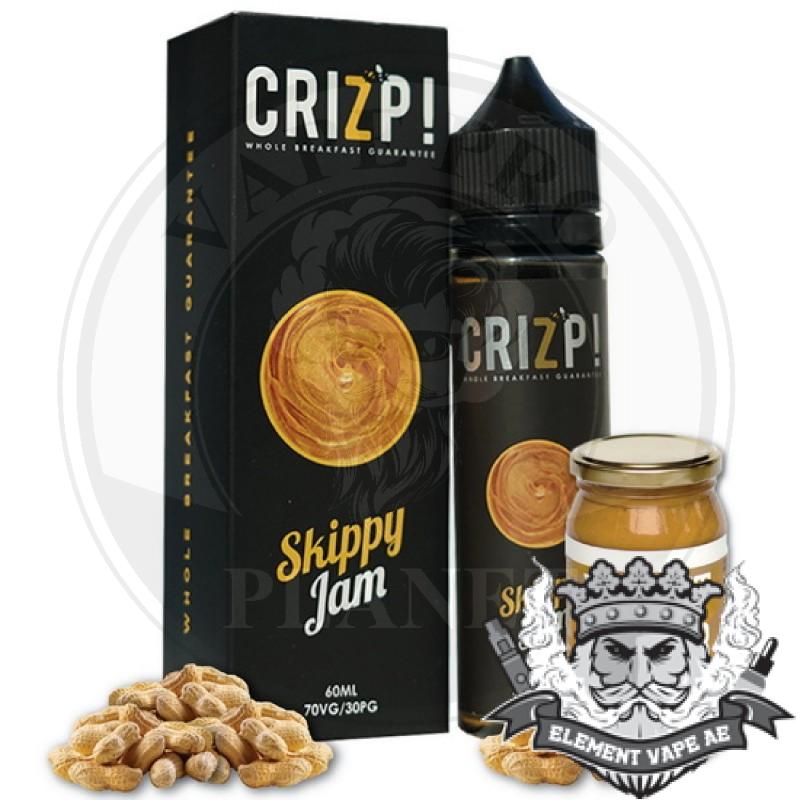 SKIPPY JAM By CRIZP BREW, 60ml, 3mg