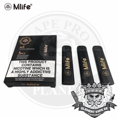 Mlife M3 Disposable Pod, 3Pcs/ Pack