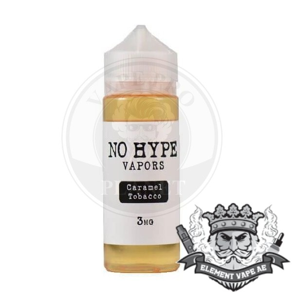 Caramel Tobacco By No Hype 120ml 3mg
