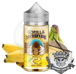 Gorilla Custard Banana By E&B, 100ml, 3mg