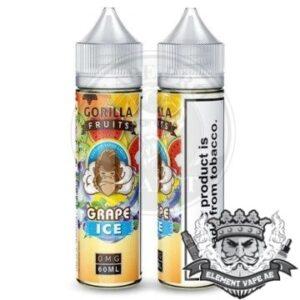 Gorilla Custard Grape ICE By E & B 60ml 3mg