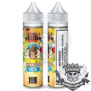 Gorilla Custard Mango ICE By E &B 60ml 3mg