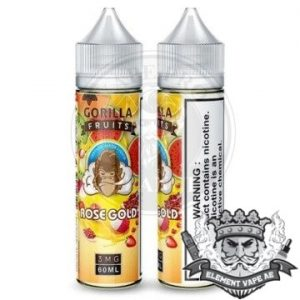 Gorilla Custard Rose Gold By E &B 60ml 3mg