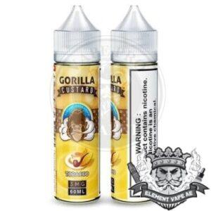 Gorilla Custard Tobacco By E&B 60ml 3mg