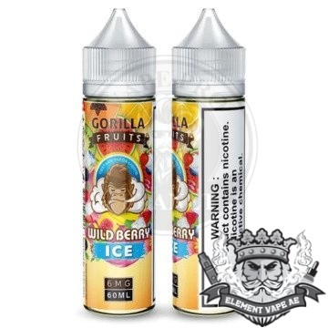 Gorilla Wild Berry ICE By E & B 60ml 3mg