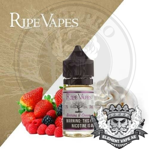 Berries And Cream Salt By Ripe vapes 30ml 30mg/50mg