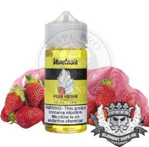Killer Kustard Strawberry By Vapetasia 100ml 3mg