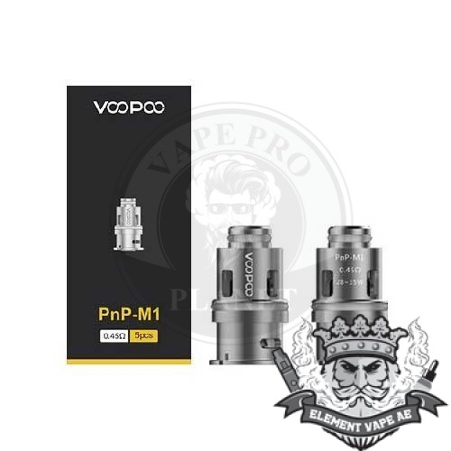 VOOPOO PNP-M1 Coil for Vinci 0.45ohm 5pcs/pack