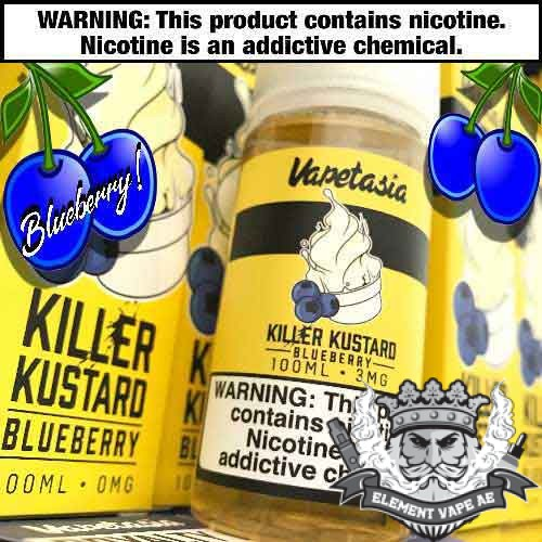 Killer Kustard Blueberry By Vapetasia 100ml 3mg
