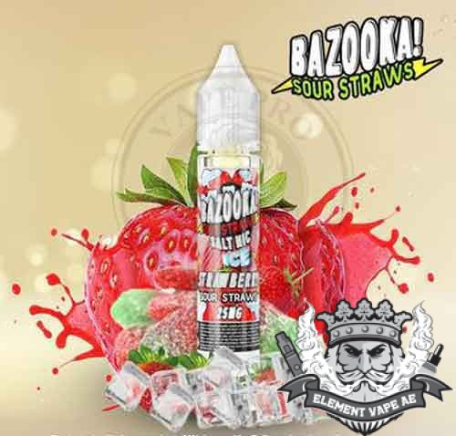 Strawberry ICE Salt Nic by Bazooka