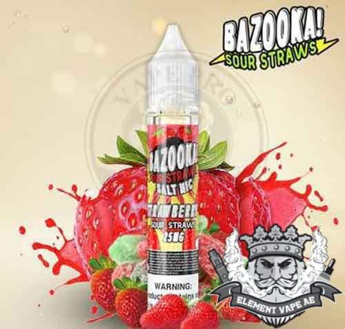 Strawberry Salt Nic by Bazooka