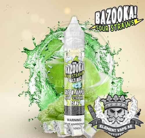 Green Apple ICE Salt by Bazooka