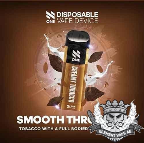 N One Nic Salt Pod Creamy Tobacco vapeproplanet