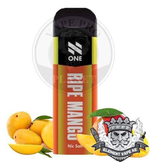 N One Nic Salt Pod Ripe Mango vapeproplanet