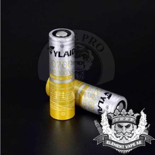 cylaid 20700 3000mah battery
