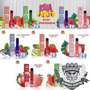 Killa Fruits Plus Disposable 600 Puffs