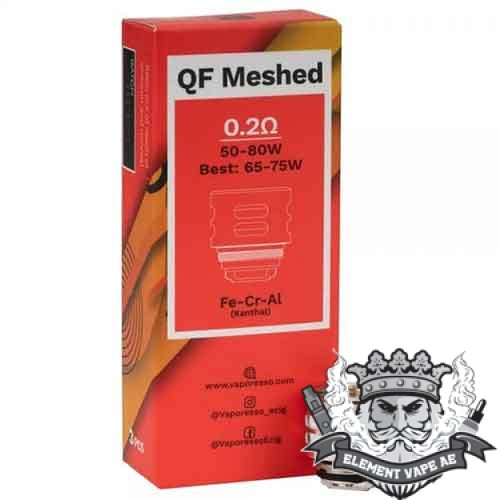 qf meshed vaporesso coil