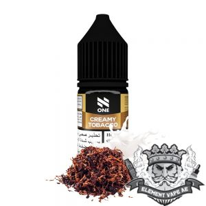 N One Salt - Creamy Tobacco