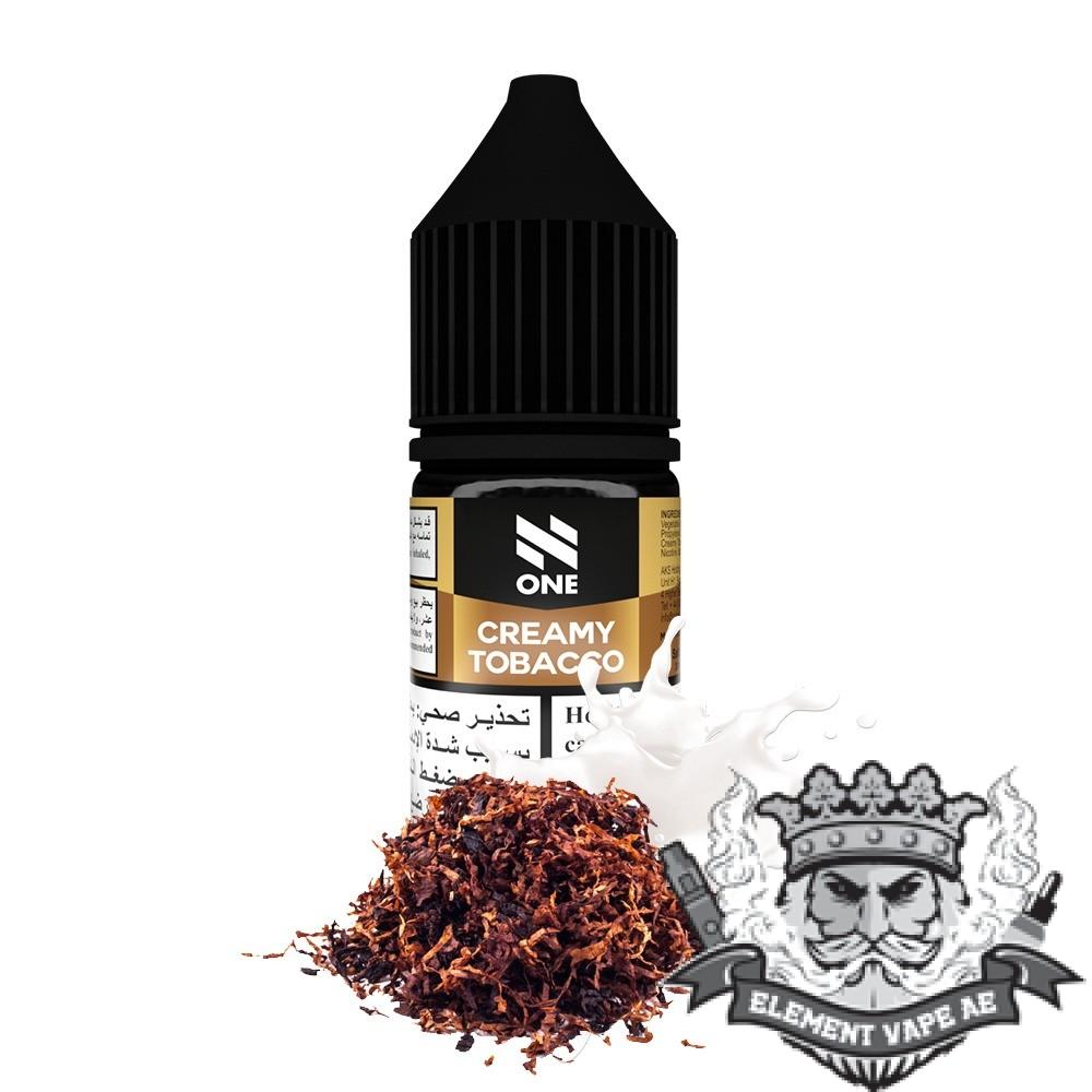 N One Salt - Creamy Tobacco