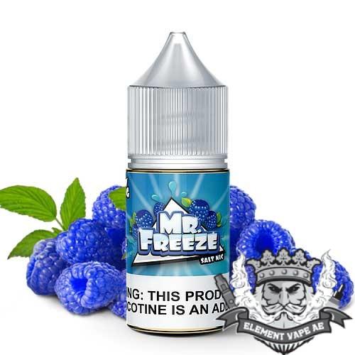 Blue Raspberry Saltnic By Mr Freeze