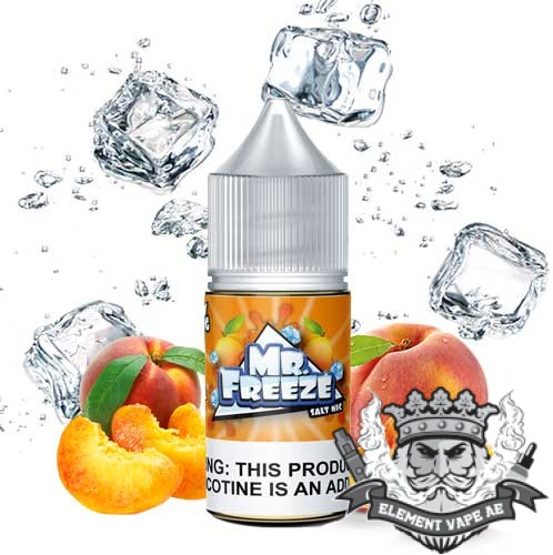 Peach Frost Saltnic By Mr Freeze