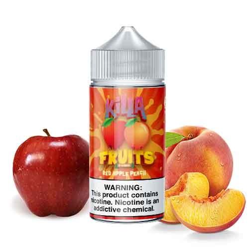 Killa Fruits Red Apple Peach