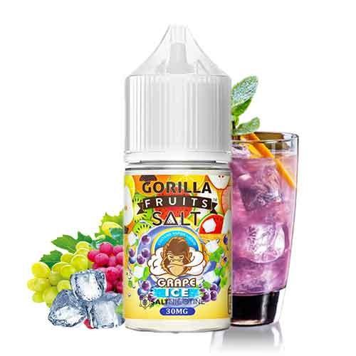 Gorilla Fruits Nic Salt - Grape Ice