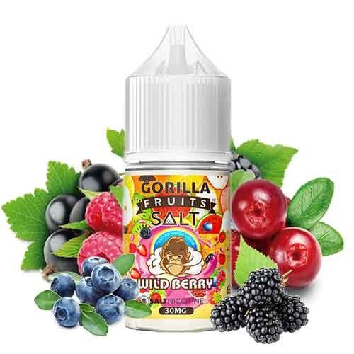 Gorilla Fruits Nic Salt - Wild Berry