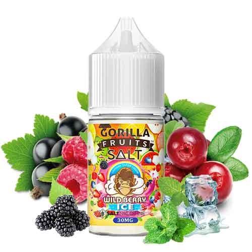 Gorilla Fruits Nic Salt - Wild Berry Ice